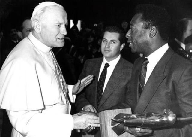 O Rei e João Paulo II