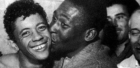 Pelé e Amarildo
