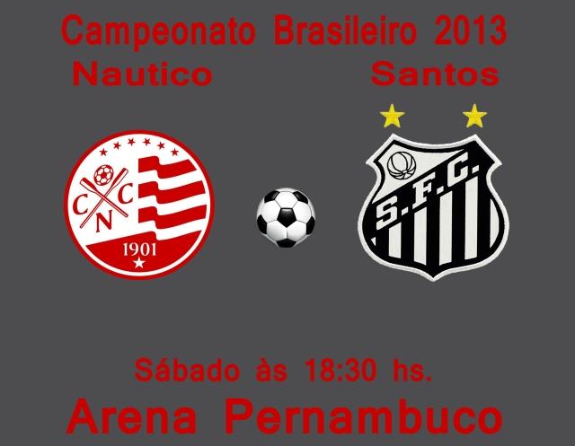 O Santos vai a Pernambuco para encarar o Nautico !