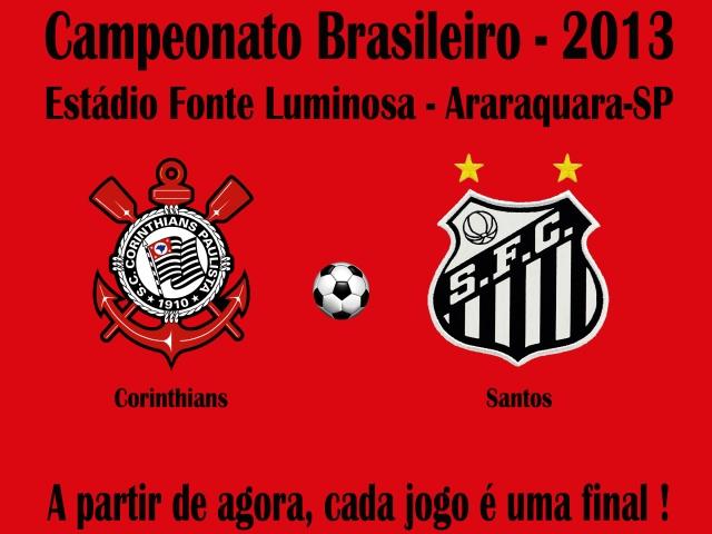 Santos encara o Corinthians, sonhando com Libertadores !