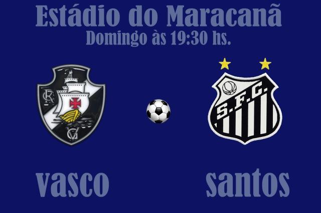 O Peixe encara o Vasco no Maracanã !