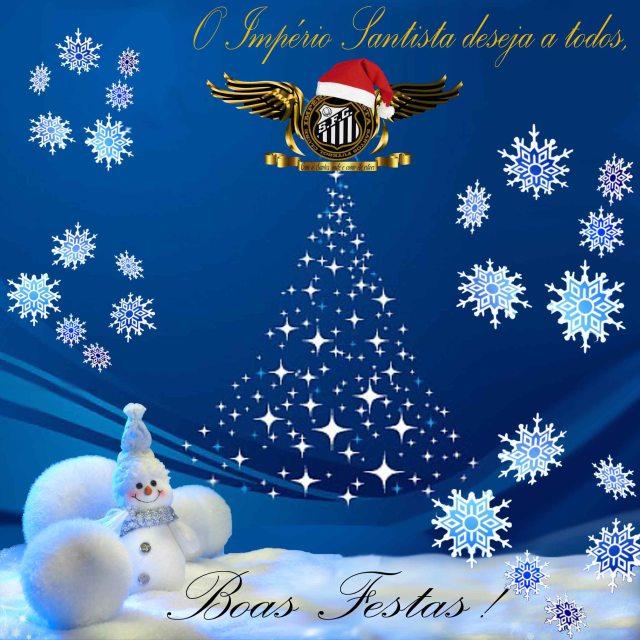O Império Santista deseja a todos os amigos, um Feliz Natal e Próspero Ano Novo !