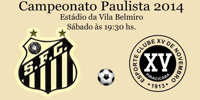 O Santos estréia neste sábado no Campeonato Paulista de Futebol !