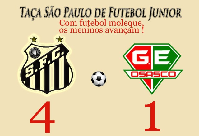 O futebol discoteca dos meninos da Vila !