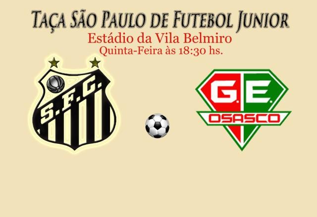 O Peixe recebe o Grêmio Osaco na Vila, pela terceira fase da Copa São Paulo !