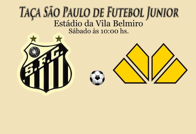 O Peixinho recebe o Crisciúma, pela Terceira Rodada da Copa São Paulo de Juniores.