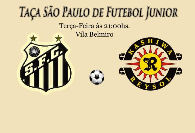 Santos e Kashima Reysol, se enfrentam pela segunda fase do Copinha, na Vila !