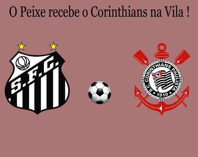 Santos e Corinthians se enfrentam nesta quarta na Vila !