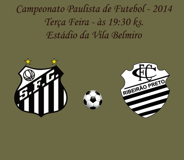 Santos e Comercial de Ribeirão Preto, se enfrentam pela sétima rodada do Campeonato Paulista !
