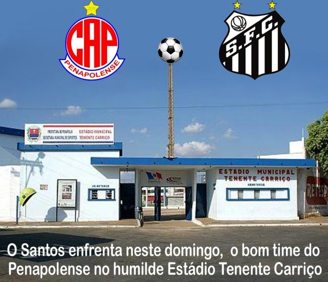 Penapolense e Santos duelam em Panápolis