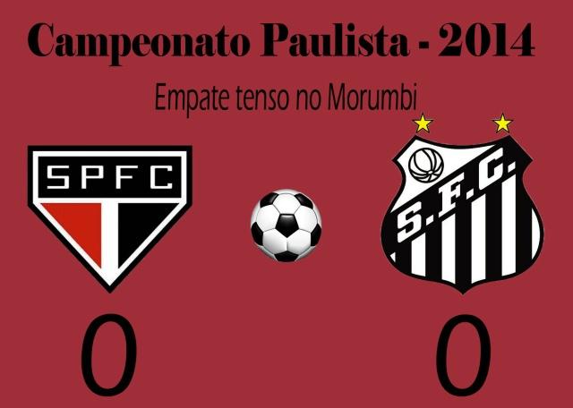 Santos e São Paulo não saem do empate no Morimbi !