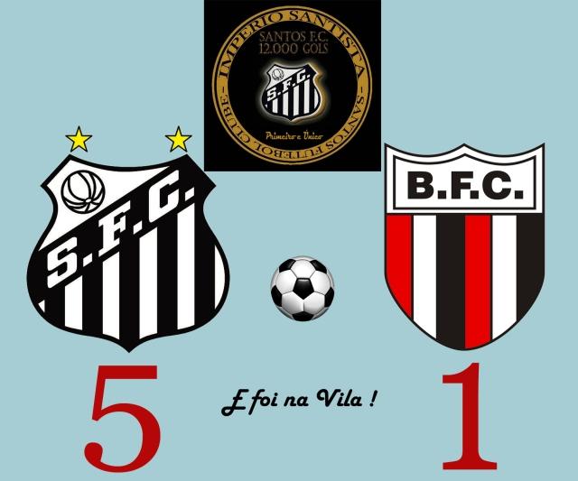 Com o gol 12.000, o  Peixe venceu e convenceu na Vila Belmiro !