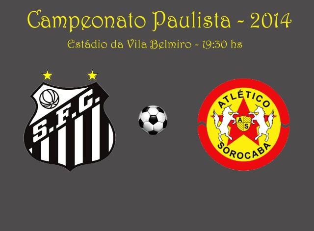 O Peixe tenta a reabilitação diante do Atlético Sorocaba, na Vila Belmiro !