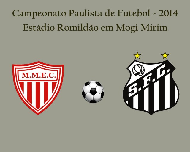 Santos e Mogi Mirim se enfrentam no Romildão pelo Paulista 2014 !