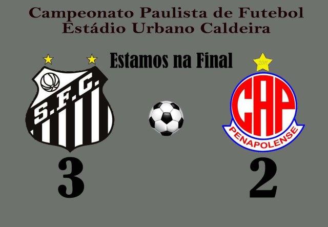 Em jogo tenso, o Peixe vira, e vai à Final do Paulista !