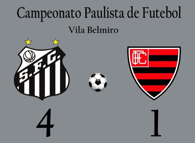 Em jogo de um time só, o Peixe goleia na Vila Belmiro !