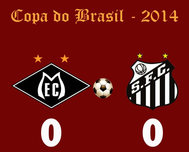 Santos e Mixto não saem do zero na Arena Pantanal !