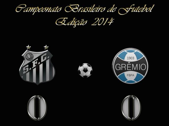Com fraco futebol, o Peixe não passa de um empate contra o Grêmio !
