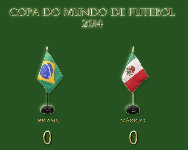 O México jogou de igual para igual e causou pânico !