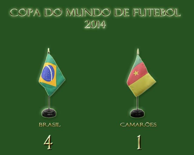 Brasil vence, e encara o Chile nas oitavas de finais !