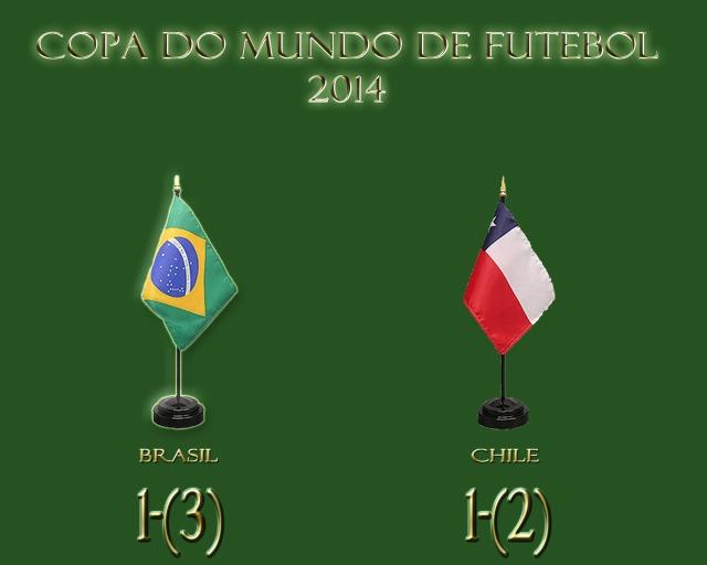 Brasil se classifica nas penalidades !