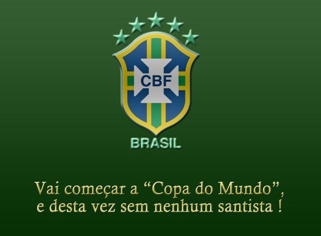 O Santos não tem nenhum representante nesta Copa ! O que você acha ?