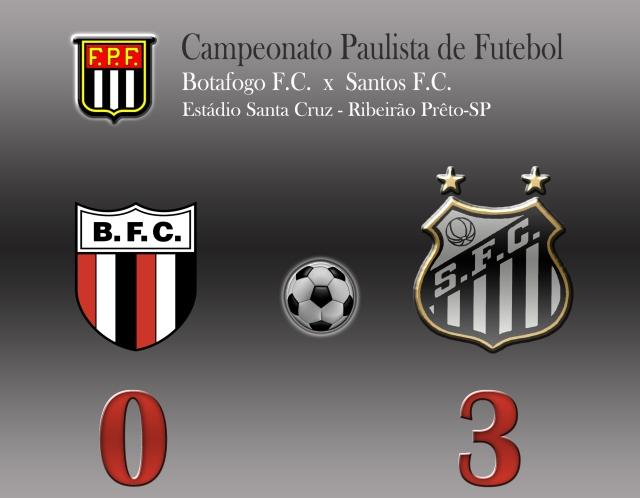 Botafogo e Santos.